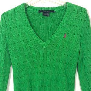 Ralph Lauren Sport Cable Knit SweaterSize Medium